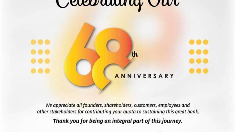 GCB CELEBRATES 68 YEARS OF LEADERSHIP!
